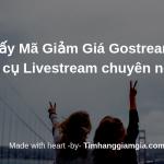 Mã giảm giá Gostream 10% – Công cụ tạo Livestream bán hàng Facebook chuyên nghiệp