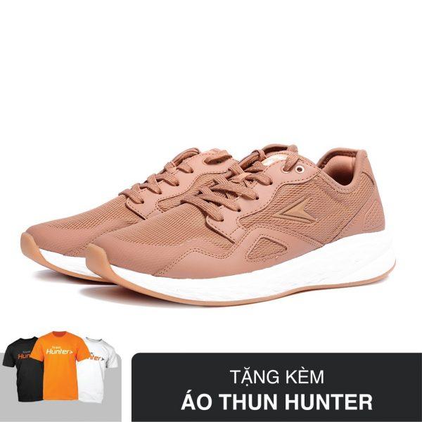 SHOPEE – [Tặng Áo Thun Hunter] Giày Thể Thao Nam Biti's Hunter Latte DSMH00600KEM (Kem)